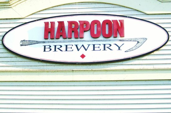 Harpoon Brewery : Brewery Sign