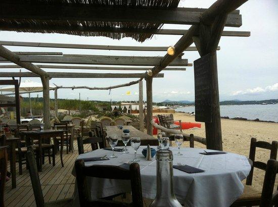 Le Migon : vue panoramique (plage de pampelonne
