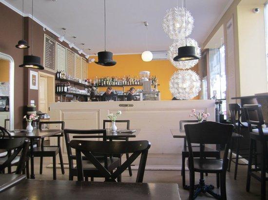 Stur Cafe : Innenansicht Shtoor