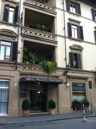 Hotel Palazzo Ognissanti: front of hotel