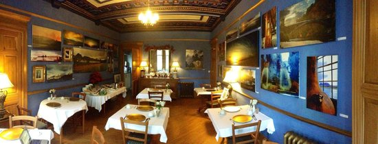 Alamo Guest House: Dining room