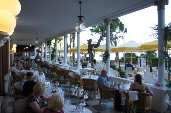 Miramar Terrace Picture Of Bar Restaurant Miramar Port