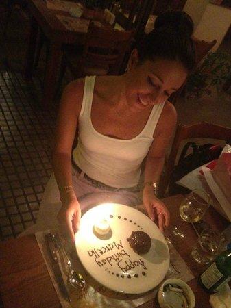 Appetito Trattoria: Birthday Celebration