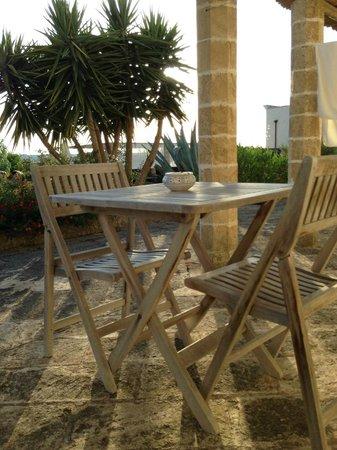 Antica Masseria Pescu : Veranda