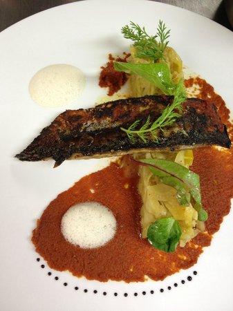 Boutique Hotel Pfauen: Makrele von meinem Freund Karsten