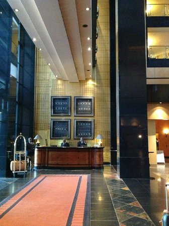 Hyatt Regency Johannesburg: entrance hall