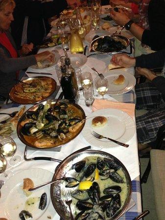 Konoba Ribarska koliba: dinner