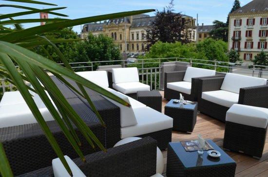 Casino Neuchâtel : Notre terrasse - lounge