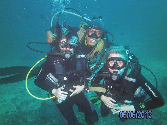 Subagan, Indonesia: Fun dives with Shangrila Scuba Divers