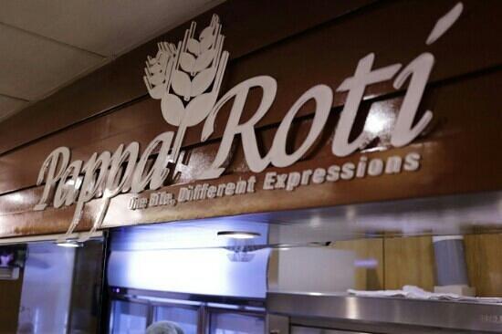 PappaRoti : Pappa Roti sign board