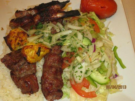 shish kabob house las vegas 6620 w flamingo rd menu