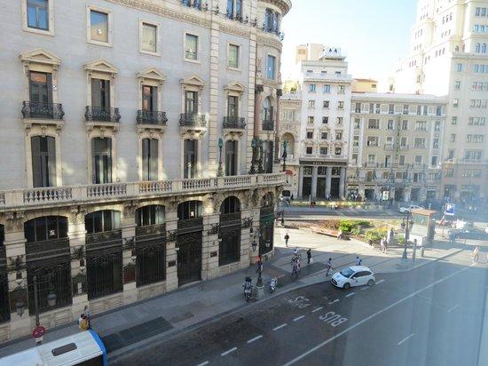 Quatro Puerta del Sol Hotel: vista