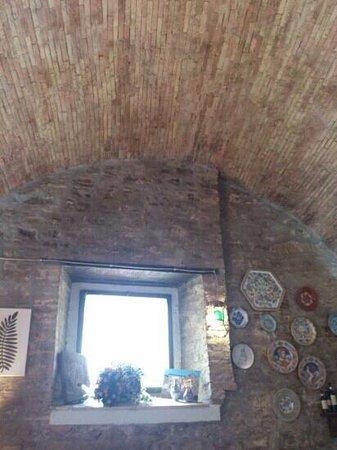 Ottavius Hosteria D'Autore: La volta del soffitto