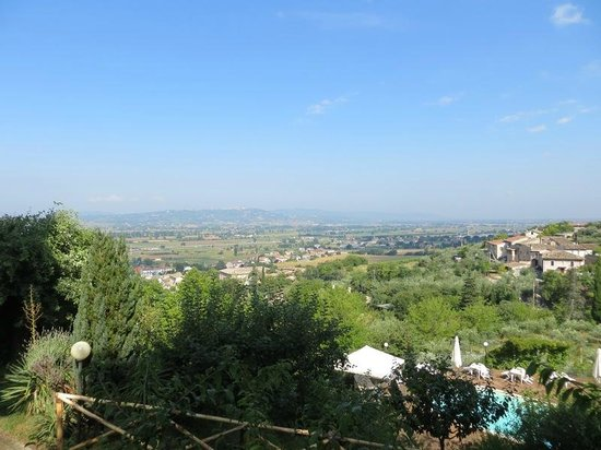 Villa Silvana: Vista sulla valle