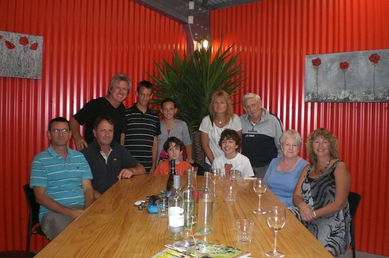 Red Shed Palazzo: Family birthday lunch
