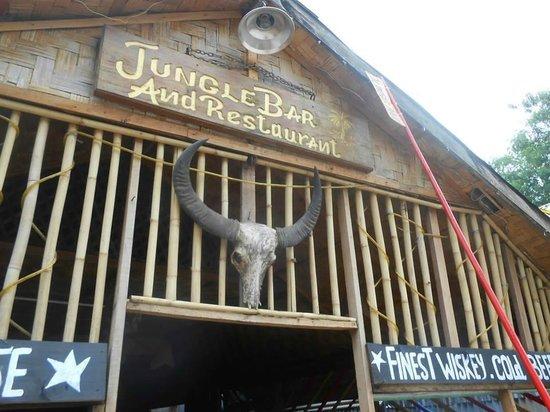 Jungle Restaurant : outside sign