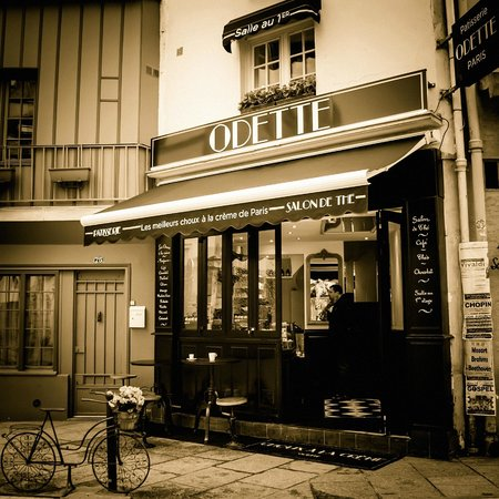 Photo of French Restaurant Odette Paris at 77 Rue Galande, Paris 75005, France