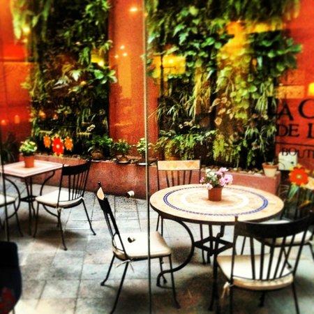 La Casona de la Ronda Heritage Boutique Hotel: outdoor courtyard