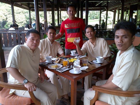 MesaStila Resort and Spa : With Team