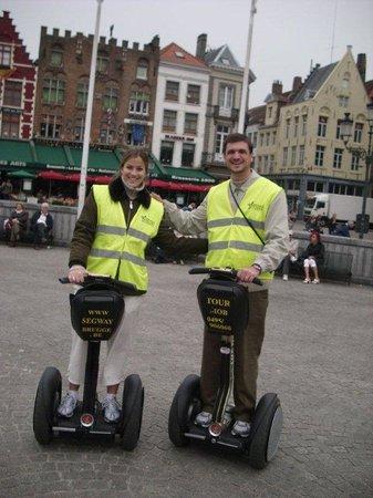 Flandres, Belgique : Brugge  segway tours