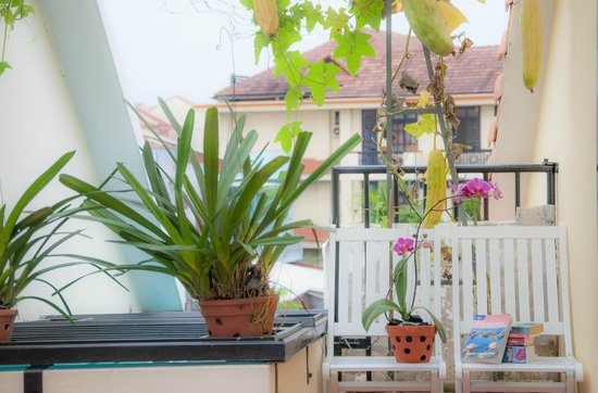 Memories Homestay : Balcony