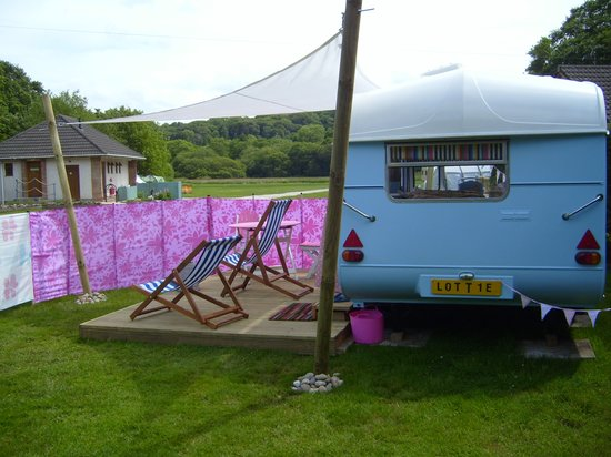"""The Meadows Campsite : """"Lottie"""" available to rent"""