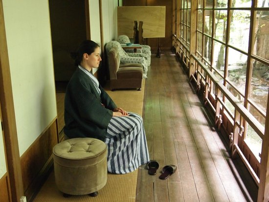 Fukuzumiro Ryokan : Contemplazione del Giardino