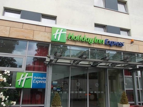 Holiday Inn Express Frankfurt-Messe: Eingangsbereich