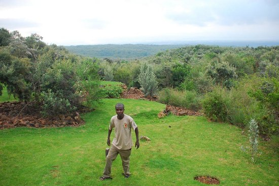Great Rift Valley Lodge & Golf Resort: Me at the lodge