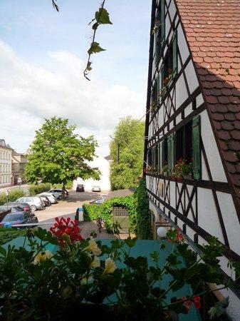Hotel Restaurant Lohmühle: vue de la fenetre de ma chambre