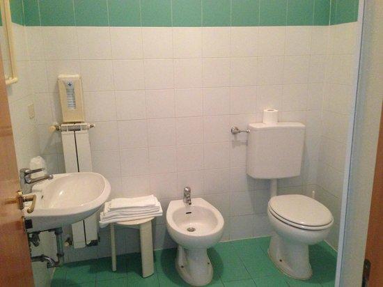 Hotel Esperanza: bagno