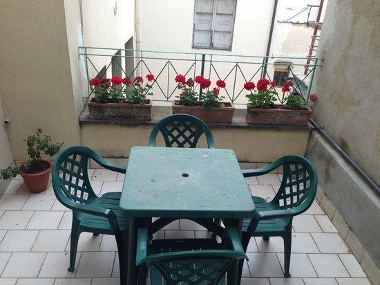 Hotel Esperanza: terrazzino