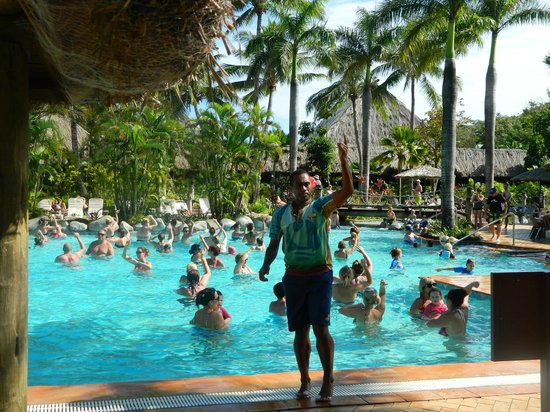 Outrigger Fiji Beach Resort Water Aerobics