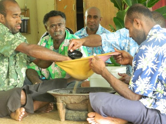 Outrigger Fiji Beach Resort: Kava ceremony on a day tour