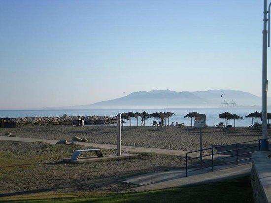 Playas de Las Acacias: playa