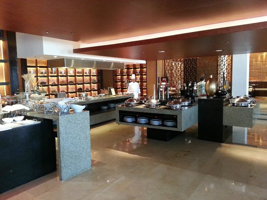 Hilton Luxor Resort & Spa : Morning buffet