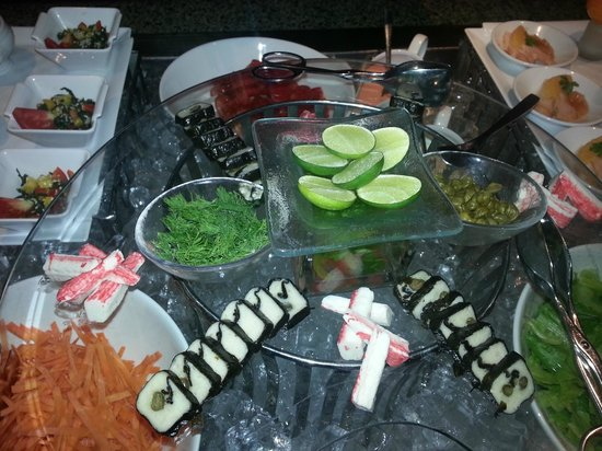 Hilton Luxor Resort & Spa: Evening buffet