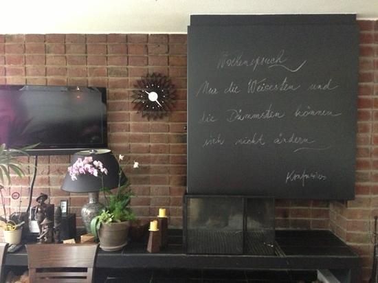 Unterfeldhaus: Sala colazione