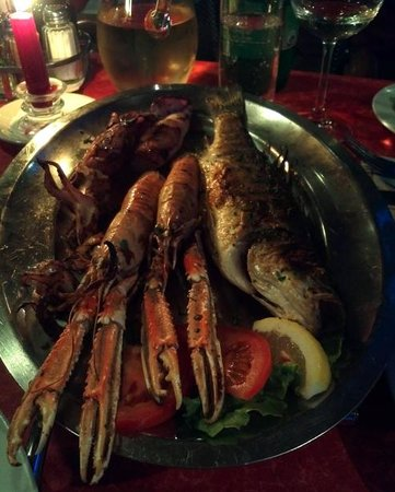 Restoran Losinjsko Jidro: sehr leckerer Fisch !!