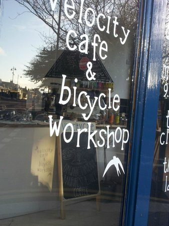 ‪Velocity Cafe & Bicycle Workshop‬