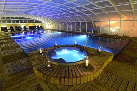 Hotel Cristal Vieira Praia & Spa: Piscina Interior Climatizada