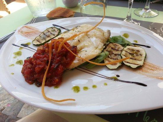 Restaurant L'Aquarium : filet de St Pierre