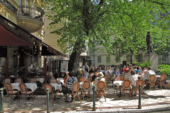 Photo of French Restaurant Gerloczy Kavehaz Cafe and Restaurant at Gerloczy Utca 1., Budapest 1052, Hungary