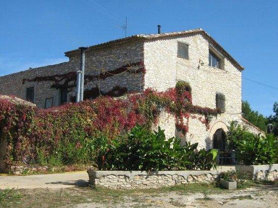 Restaurante Caballo de Copas: fachada vista desde el jardín