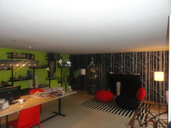 Design Hotel des Francs Garcons : accueil