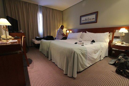 Tryp Madrid Alameda Aeropuerto Hotel : Room