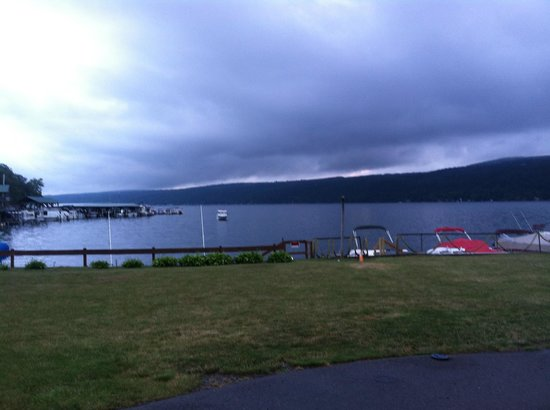 Keuka Lakeside Inn: The View From Room 19