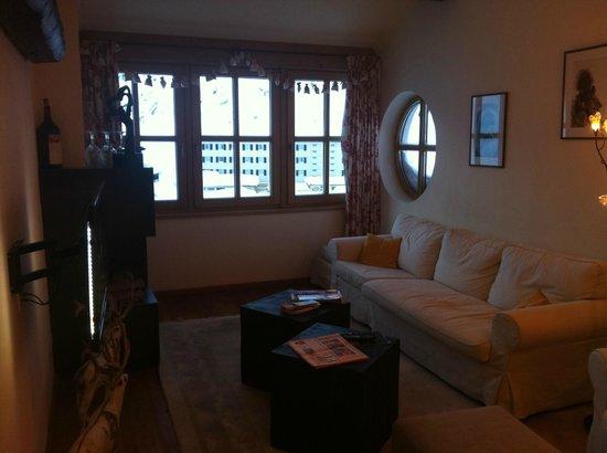 Arlberg Hospiz Hotel: Dining room
