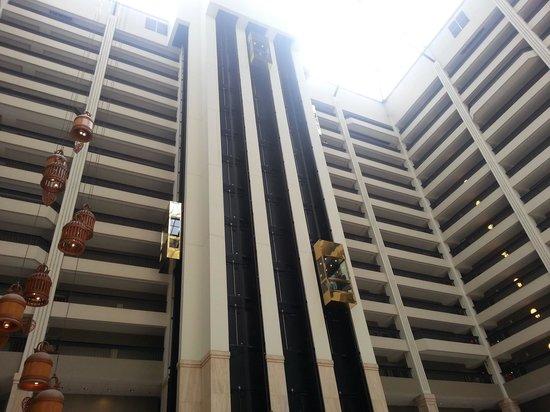 Renaissance Atlanta Waverly Hotel Convention Center Gl Elevators