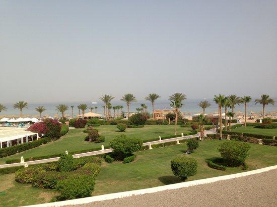 Baron Resort Sharm El Sheikh: Hotel Baron Resort - Blick aus dem Zimmer